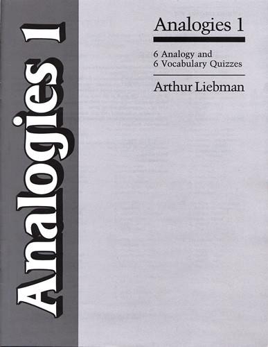 Analogies 1-6 Vocabulary & Analogy Quizzes