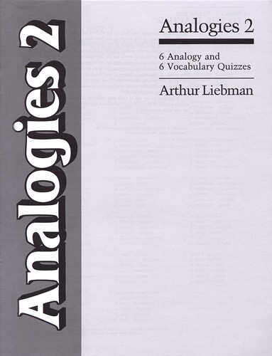 Analogies 2   - 6 Vocabulary & Analogy Quizzes