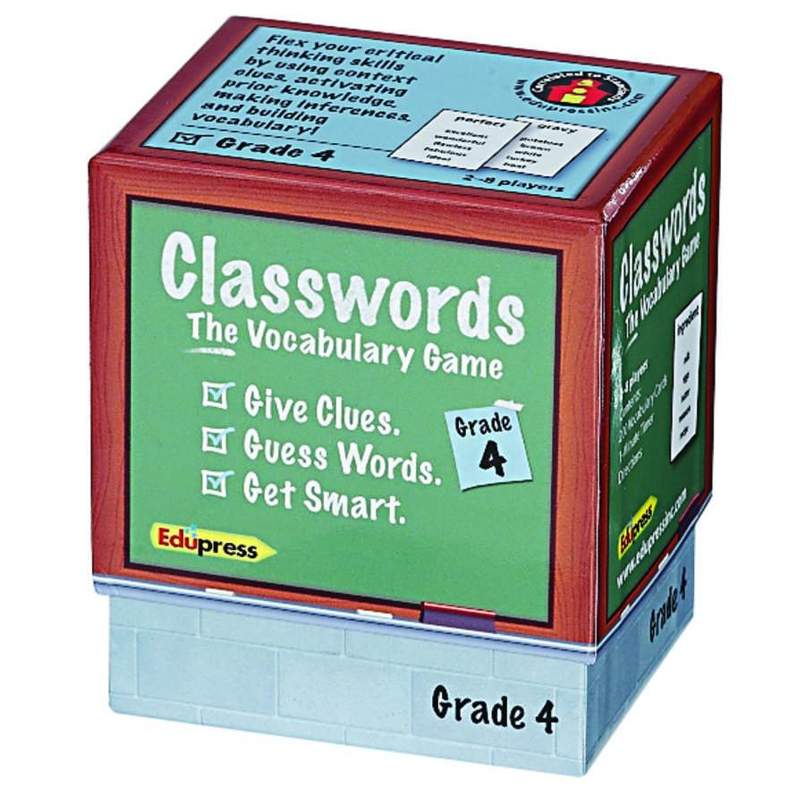 Classwords, Grade 4 - EduPress