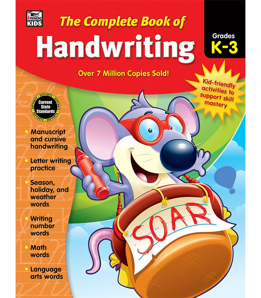 The Complete Book of Handwriting Grades K-3