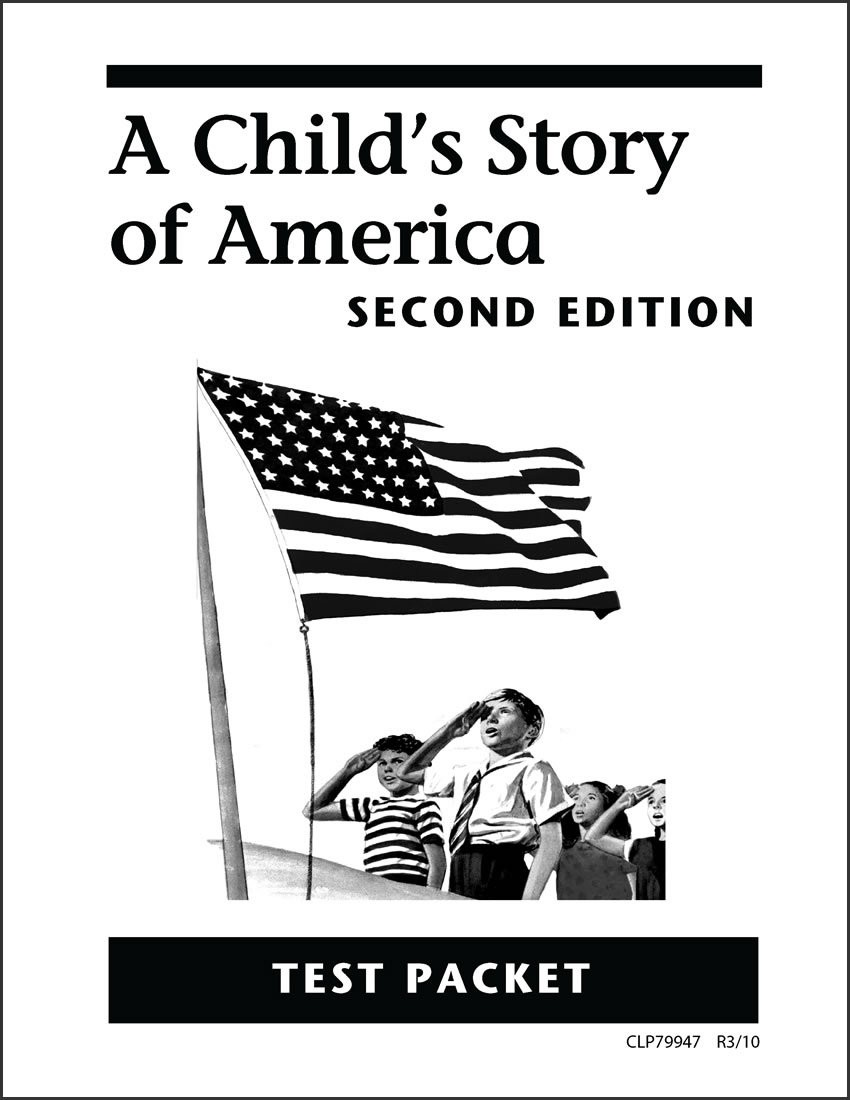 A Child's Story of America Test Packet
