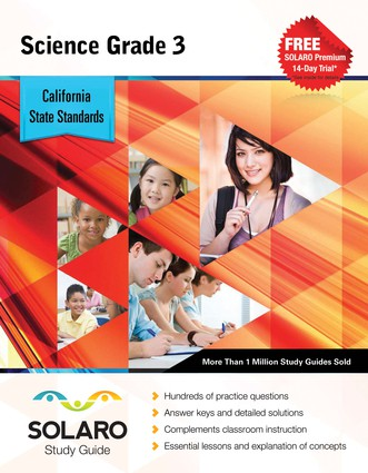California Science Grade 3 (Solaro Study Guide)
