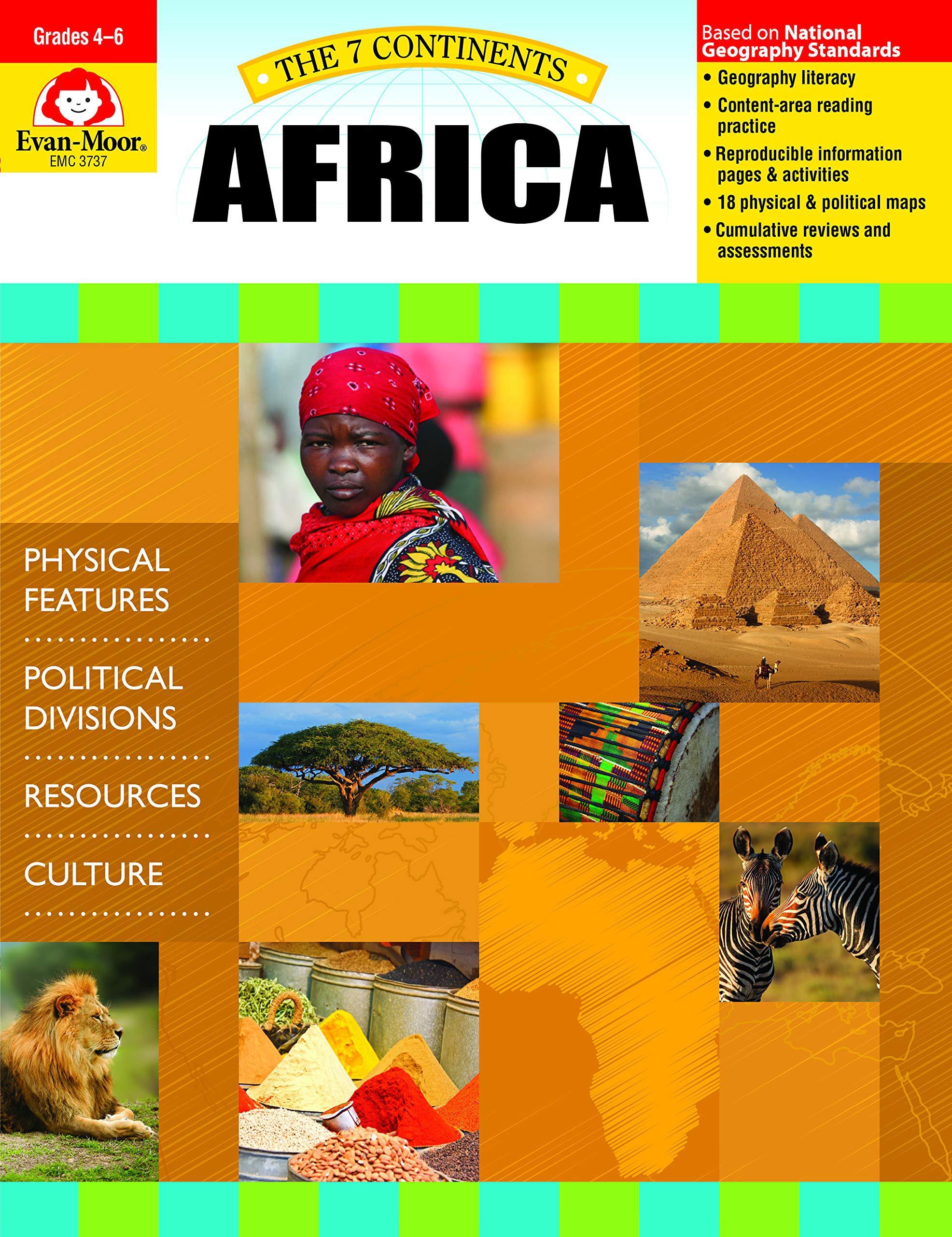 Africa (The Seven Continents)  Evan-Moor