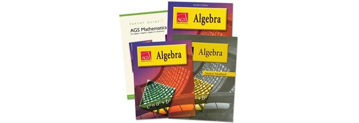 AGS Algebra 1 Homeschool Bundle (2004)
