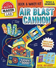 Air Blast Cannon Kit - Klutz