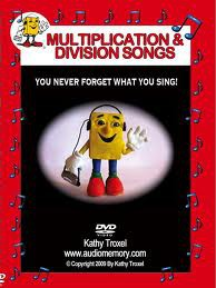 Audio Memory Multiplication & Division Songs DVD