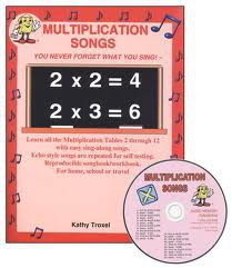 Audio Memory Multiplication Songs CD Kit.