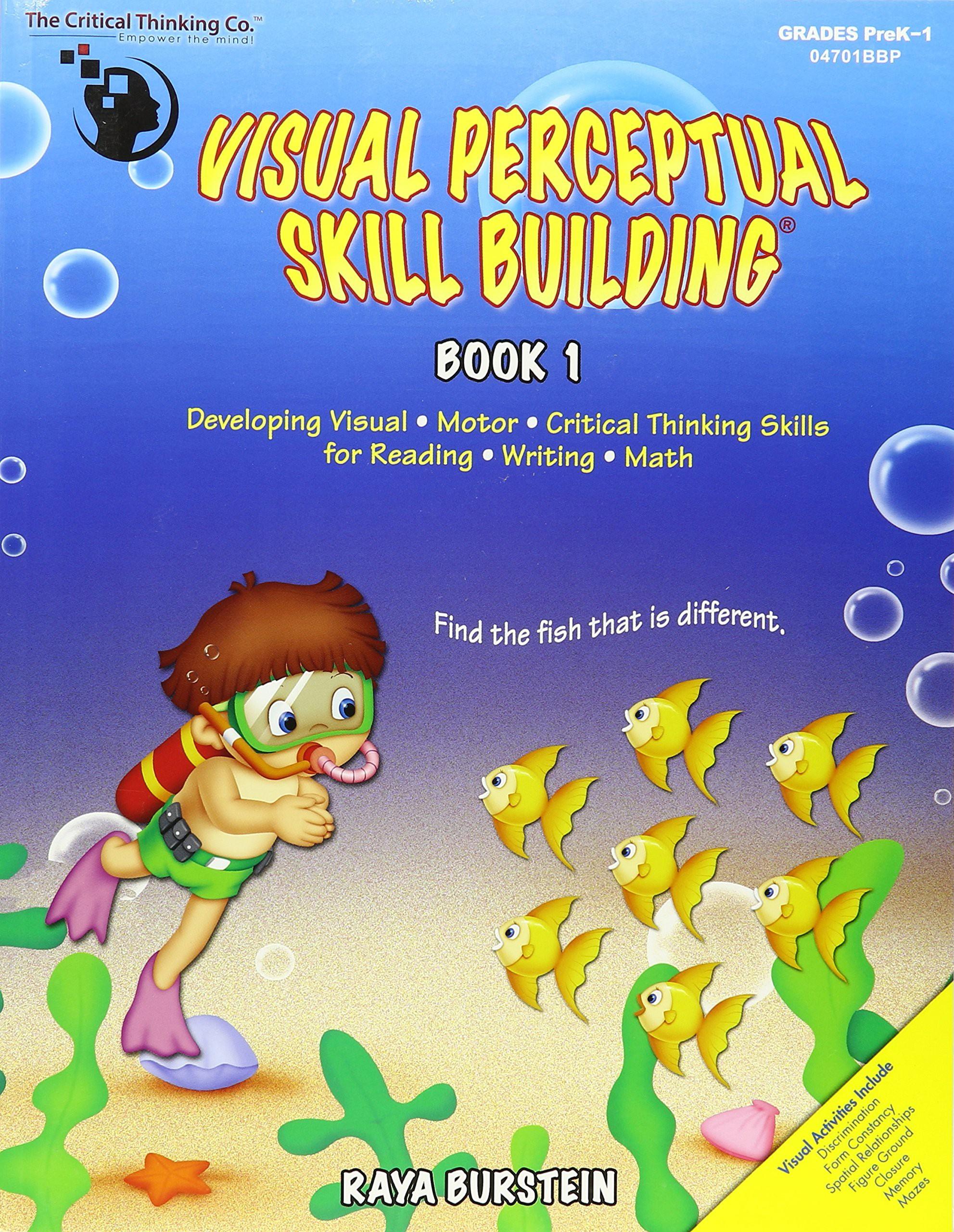 Visual Perceptual Skill Building, Book 1 - The Critical Thinking Company
