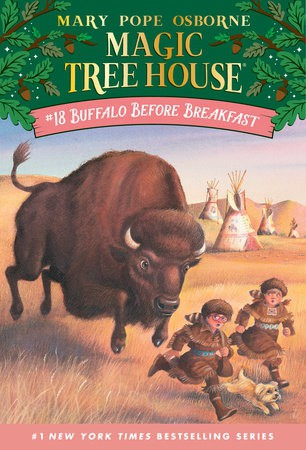 Magic Treehouse #18.Buffalo Before Breakfast