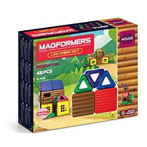 Magformers Log Cabin 48 Pieces - STEM