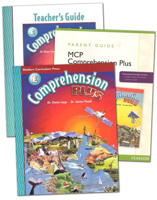 Comprehension Plus Homeschool Bundle Level E (MCP)