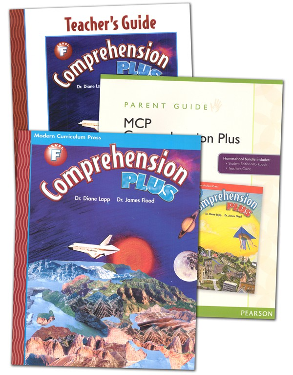 Comprehension Plus Homeschool Bundle Level F (MCP)