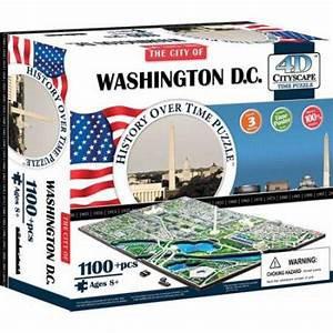 4D Cityscape Washington DC Puzzle