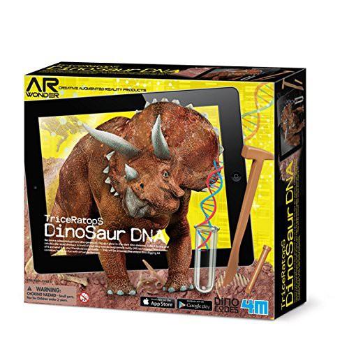 Triceratops Dinosaur DNA Science Kit