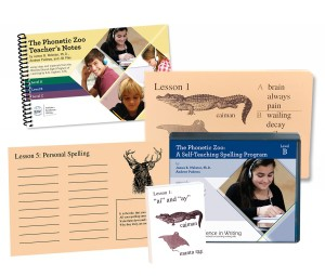 IEW The Phonetic Zoo Spelling Starter Set, Level B