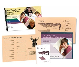 IEW The Phonetic Zoo Spelling Starter Set, Level C