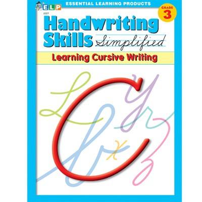 (Zaner-Bloser) Handwriting Skills Simplified - Learning Cursive Writing Grade 3