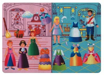 Cinderella Felt Tales Storyboard