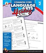 Common Core Language Arts 4 Today Workbook Grade 2
