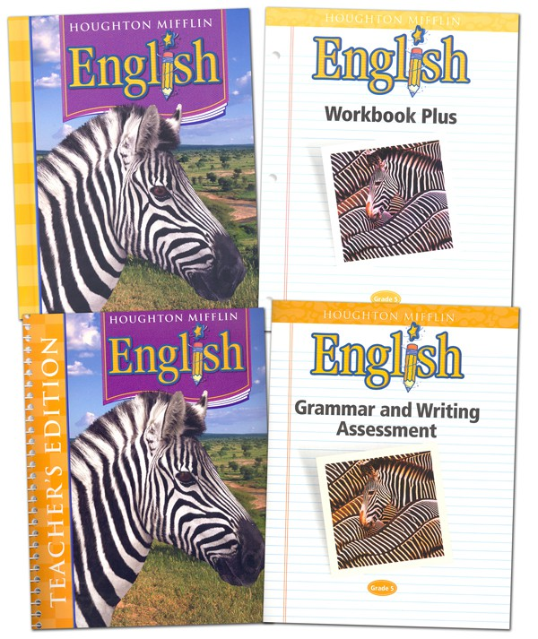 A Brighter Child Houghton Mifflin English Grade 5
