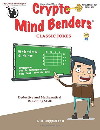 Crypto Mind Benders: Classic Jokes -The Critical Thinking Company