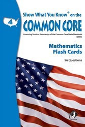 Show What You Know on the Common Core Reading Gr 4 Flash Cards
