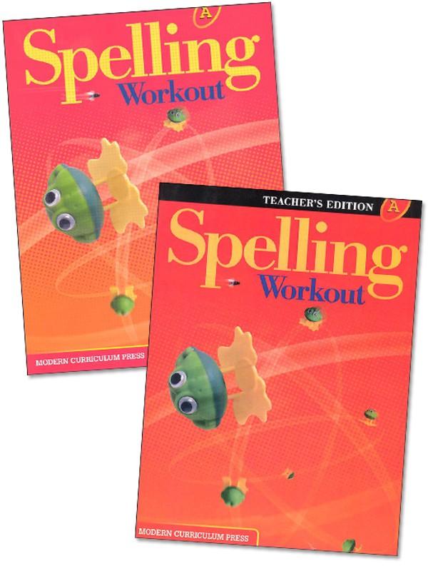 MCP Spelling Workout A, Grade 1 Homeschool Bundle (2001/2002 Ed)