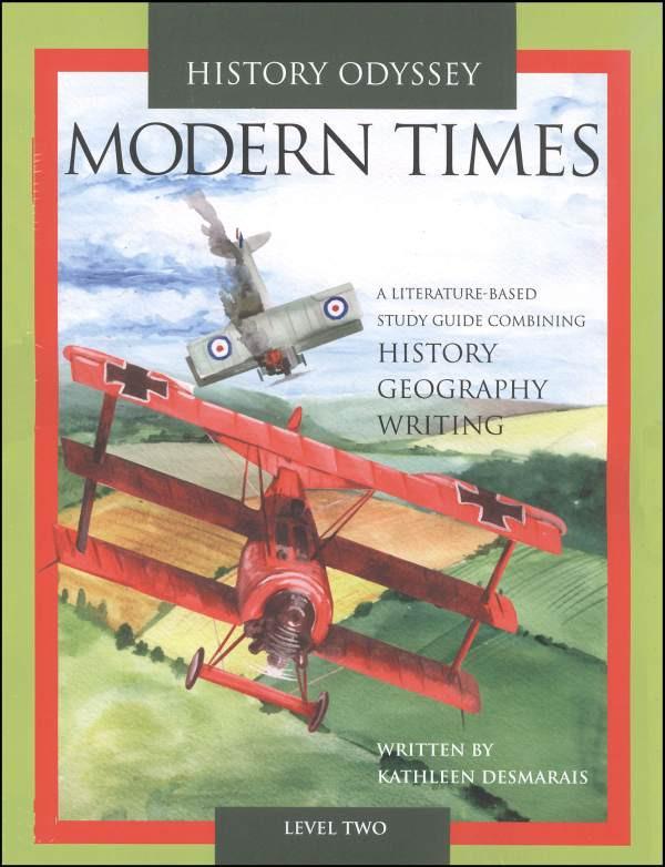 History Odyssey Modern Times Level 2 (Plus Binder)