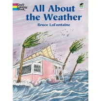 All About the Weather Coloring Book