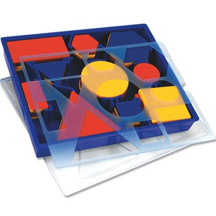 Attribute Block Set: Desk Set in Plastic Storage Tray