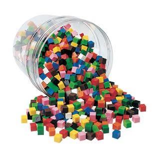Centimeter Cubes Set of 500