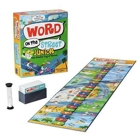 Word on The Street® Junior Board Game