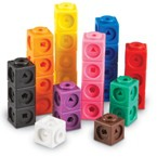Mathlink Cubes Set of 100