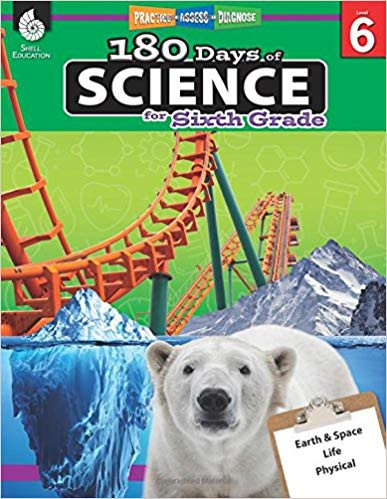 180 Days of Science for the Sixth Grade - Teacher Created Materials