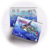 Sea Critters Coloring Book - Earth Art International