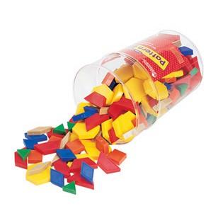 Basic Pattern Blocks - Set of 250