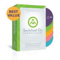 Switched On Schoolhouse 5-Subject Set Grade 8