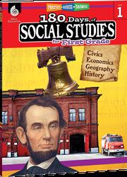 180 Days of Social Studies for First Grade - Teacher Created Materials