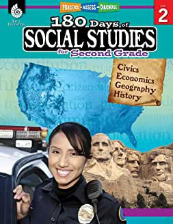 180 Days of Social Studies for Second Grade - Teacher Created Materials