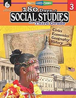 180 Days of Social Studies for Third Grade - Teacher Created Materials
