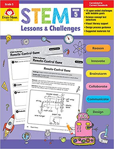 STEM Lessons and Challenges, Grade 5  Evan-Moor