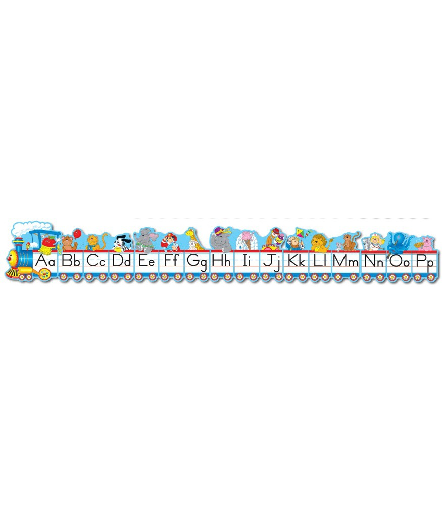 Alphabet Train Border