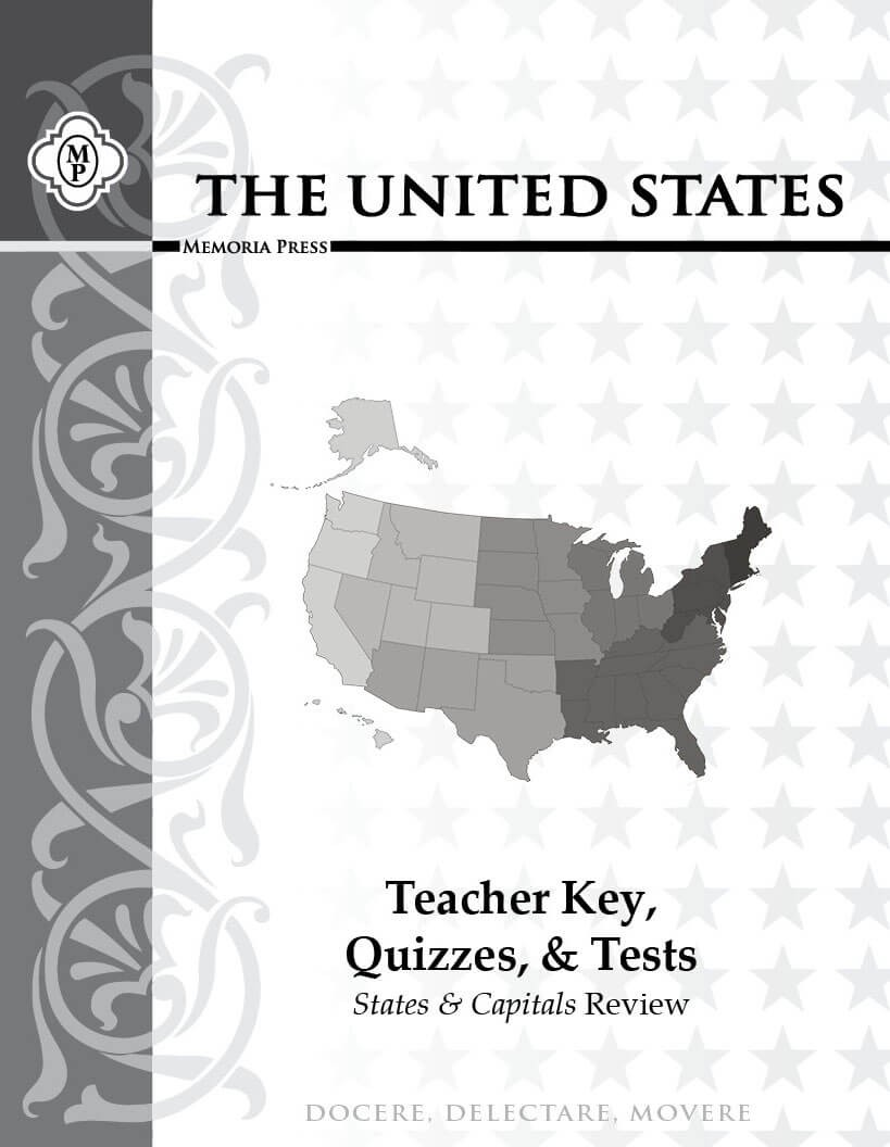 United States Teacher Key, Quizzes, and Tests