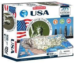 4D Cityscape USA Puzzle