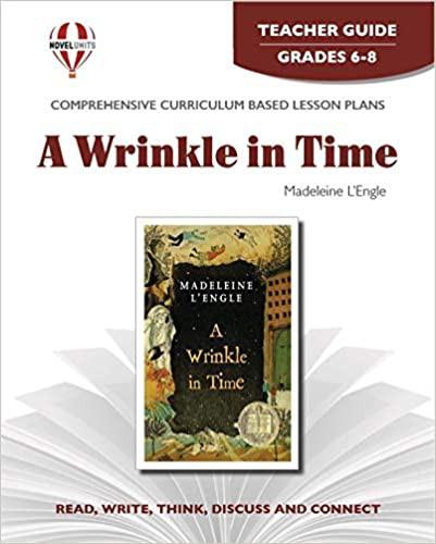 Novel Units A Wrinkle in Time Teacher Guide