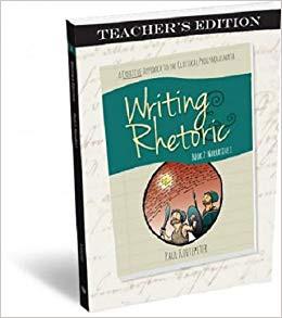 Writing & Rhetoric Book 2: Narrative I - Teachers Edition - Classical Academic Press