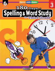 180 Days of Spelling and Word Study for Third Grade - Teacher Created Materials