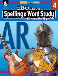 180 Days of Spelling and Word Study for Fourth Grade - Teacher Created Materials