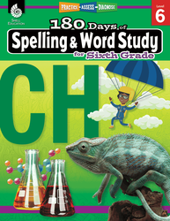 180 Days of Spelling and Word Study for Sixth Grade - Teacher Created Materials