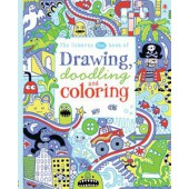 Drawing, Doodling and Coloring - Blue Book